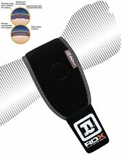 RDX Neoprene Silicon Wrist Brace Support Gym Weight Lifting Strap Bandage Wrap P