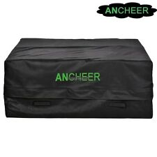 Roof Top Cargo Bag Waterproof Carrier Storage Luggage for SUV Car Vehicle Black