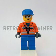 LEGO Minifigures - 1x cty053 - Airport Ground Crew - Omino Minifig Set 7734