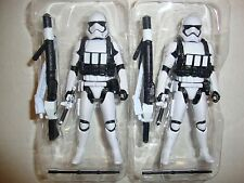 3.75 Star Wars First Order Heavy Artillery Stormtrooper Lot of 2 Action Figures