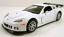 "RMZ city 2010 Chevrolet Corvette C6-R 1:36 scale 5"" diecast model car White R12"