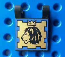 lego  2335pb006 flag 2x2 duel pattern. from sets 8781, 8779, 8800