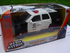 HERO PATROL 1:32  LOS ANGELES Police Department. 2010 CHEVY TAHOE NEW in BOX!
