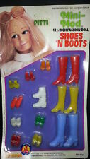 ORIGINAL VINTAGE SHILLMAN ACCESSORIES X BARBIE CLASSIC SHOES AND BOOTS FULL SET
