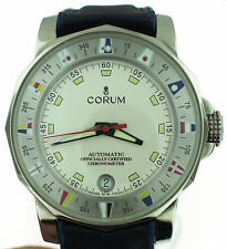 Corum Admiral's Cup Ref 982.530.20 Watch - Date Stainless Automatic Chronometer