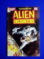 Alien Encounters 12: Sci fi comic. 1987     VFN