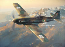 Fiat G.55 Centauro Limited Edition Aviation Painting Art Print Darryl Legg