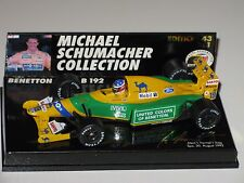 Benetton Ford B192 - Winner Belgian Gp 1992 - M.Schumacher - F1 1/43 minichamps