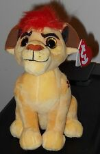 "Ty Beanie Baby ~ Disney The Lion Guard KION 6"" Plush Toy ~ 2016 NEW with Tags"