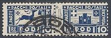 1934 EGEO USATO PACCHI POSTALI 10 LIRE - RR12407
