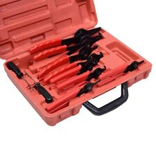 11pc SNAP RING PLIERS Set Mechanics Circlips Auto Tool Internal External Pliers