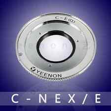 【Yeenon】C Mount to Sony NEX E Mount Adapter (can adjust the midline position)
