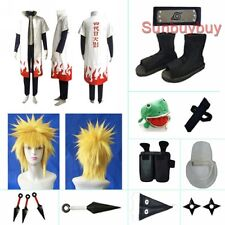 Naruto Yondaime 4th Hokage Cosplay set with wig
