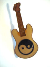 PINS RARE GUITARE YIN YANG CHINE INSTRUMENT MUSIQUE