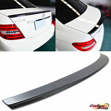 Painted For Mercedes BENZ W204 C-Class DP Type Trunk Boot Spoiler C250 C300