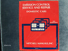 1978 Mitchell emission control service & Repair manual Domestic Cars Supplement