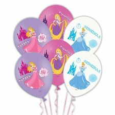 "DISNEY PRINCESS  6 LATEX BALLOONS 11"" PARTY CELEBRATION"