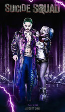 14x21Inch Art Suicide Squad Poster - Harley Quinn Joker Hot DC Film 535