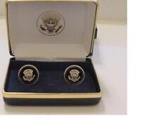 Pair of President TRUMP  cufflinks  - Presidential seal silver