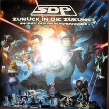 2 x 180g Vinyl LP NEU SDP – Zurück In Die Zukunst ---- Dendemann Samy Deluxe