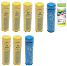 FREE 3-4 DAY SHIPPING Spa Frog Kit 8 pack 6 Bromine & 2 Mineral w/Test Strips