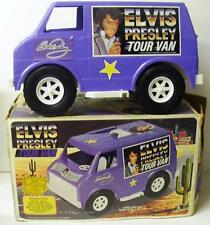 ELVIS PRESLEY LARGE TOUR VAN 1984 LAPIN TOYS W/BOX & STICKERS