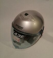 Nolan N43E N-Com Helmet XS Silver with Bag Cover L@@K