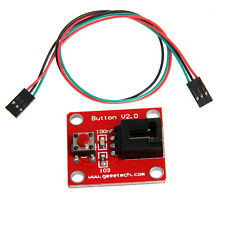 Button Modulo V2.0 for Sensor Shield+Free 3pin Cable compatible with Arduino