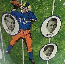 Philadelphia Eagles/West Virginia/WVU TOM WOODESCHICK1971Cheinco TRASHCAN007Rare