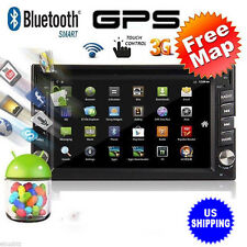 "WIN CE 3G WIFI 6.5"" Double 2DIN Car Radio Stereo DVD Player GPS Navigation US G"