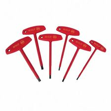 Wiha 33490 Insulated T-Handle Hex Inch 6 Pc Set