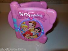 MATTEL DISNEY PRINCESS CHARACTER FRIEND ELECTRONIC TOUCH SOUND ALPHABET BOOK