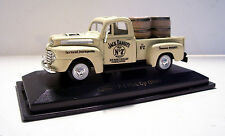 1948 Ford F-100 Pickup Jack Daniels Custom Graphics Diecast White Ute 1:43