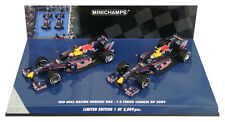 Minichamps Red Bull RB5 1-2 Finish Chinese GP 2009 Vettel/Webber 2 Car Set 1/43