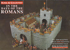 KING & COUNTRY ROMAN EMPIRE RO40 10 PIECE ROMAN FORT MIB