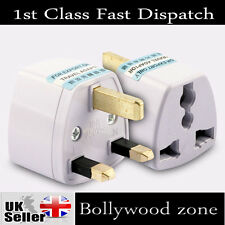 3 PIN PLUG 10A TRAVEL ADAPTOR Universal  USA* EU*CHINA*ASIA*AUSTRALIA  to UK