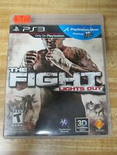Fight: Lights Out  (Sony Playstation 3, 2010) Game and case