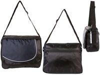 Mens Messenger Courier Bag Boys Quality Satchel School College Shoulder Case UK