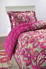 NEW Vera Bradley Reversible Comforter Set Twin/Twin XL Paisley Meets Plaid New