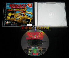 MONACO GRAND PRIX RACING SIMULATION 2 Dreamcast Dc Japanese Version »»» COMPLETO