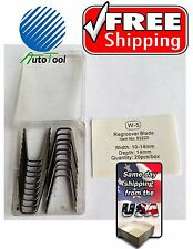 """#5 Tire ReGroover Grooving Blades (11.5mm)(7/16"""") 20 pc Square"""
