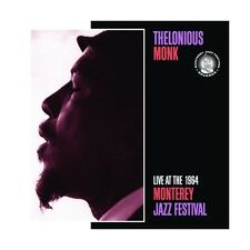 CD Thelonious Monk- live at the 1964 monterey jazz festival 888072303126