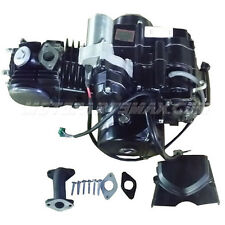 125cc 4-stroke Engine with Semi-Auto Transmission w/Reverse, Electric Start
