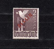 Berlin Rotaufdruck Michel Nr. 34, 2,-M  postfrisch, geprüft Schlegel,siehe Scan