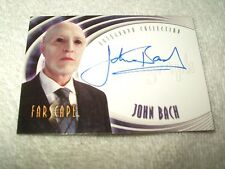 Farscape Autograph Card John Bach as Einstein