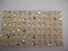 24 swarovski crystal beads,10mm crystal AB #5300