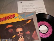 "7"" - Indeep / Record keeps Spinning & Instrumental - MINT  PROMO # 2977"