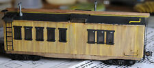 HO Wood Bunk Car Kit MOW LOGGING New in the Box!