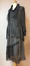 "MADEINITALY LAGENLOOK QUIRKY LAYERED 3 PIECE  DRESS FREE SIZE 14-20UK UP TO 48""B"
