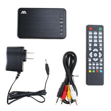 Full HD 1080P Media Audio Video Player AV VGA USB RMVB MKV SD SDHC AVI RM